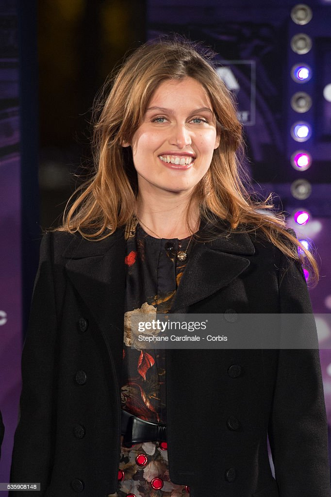 Actress and model Laetitia Casta launches the Champs-Elysees Christmas illuminations, in Paris