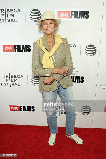 Actress and model Lauren Hutton attends Tribeca Talks After The Movie Jeremiah Tower The Last Magnificent at BMCC John Zuccotti Theater on April 16...