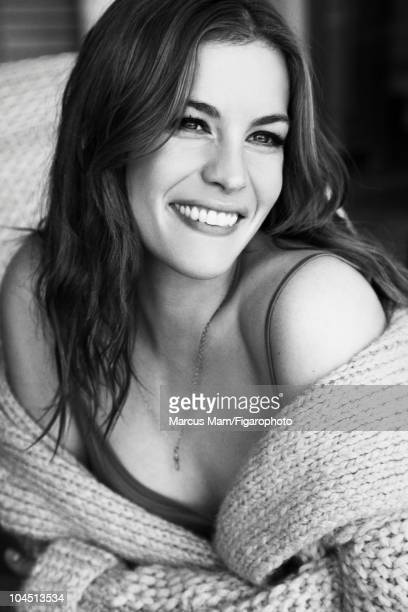 Actress and model Liv Tyler at a portrait session for Madame Figaro Magazine in 2010 All makeup and beauty by Givenchy Makeup by Nicolas Degennes...