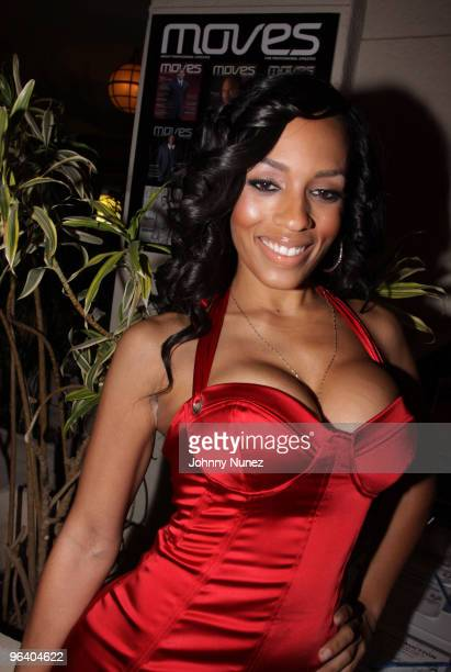 Actress and model Melyssa Ford attends the Moves Magazine Annual Super Bowl Gala on February 3 2010 in Hallandale Florida