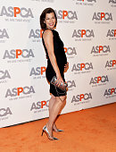Actress and model Milla Jovovich arrives at the ASPCA cocktail party honoring Kaley CuocoSweeting and Nikki Reed with ASPCA Compassion Awards at a...