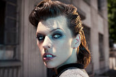 Actress and model Milla Jovovich is photographed for New York Moves on August 5 2011 in Los Angeles California