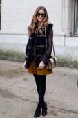 Actress and model Olivia Palermo wears all Chloe on day 6 of Paris Collections Women on March 02 2014 in Paris France