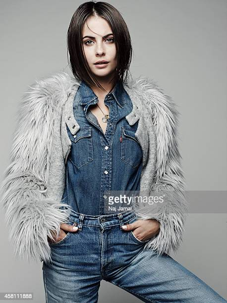 Actress and model Willa Holland is photographed for WhoWhatWearcom on October 8 2014 in Los Angeles California Jacket shirt and jeans PUBLISHED IMAGE