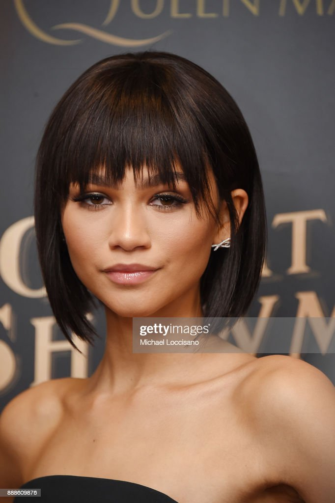 Actress and model Zendaya attends the 'The Greatest Showman' World Premiere aboard the Queen Mary 2 at the Brooklyn Cruise Terminal on December 8, 2017 in the Brooklyn borough of New York City.