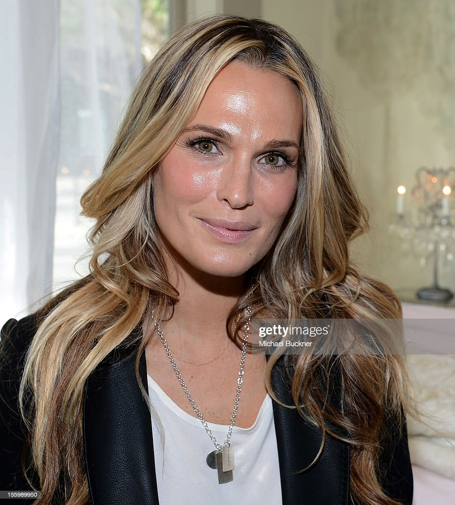 Actress and parent Molly Sims attends the Restoration Hardware Baby And Child Gallery Opening at Third Street Promenade on November 10, 2012 in Santa Monica, California.