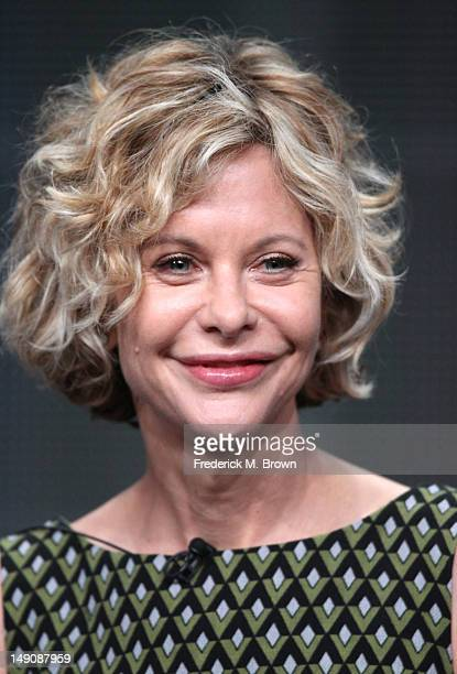 Actress and participant Meg Ryan speaks onstage at the 'Half the Sky a Special Presentation of Independant Lens' panel during day 2 of the PBS...