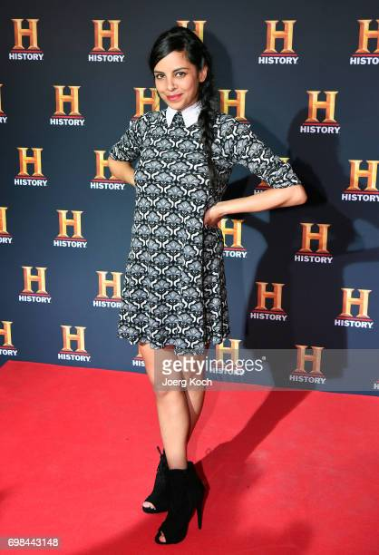 Actress and patroness Collien UlmenFernandes attends the HISTORY Award 2017 ceremony by TV channel HISTORY at Deutsches Museum on June 20 2017 in...