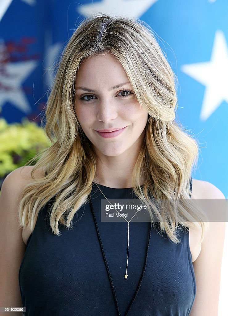 Actress and performer <a gi-track='captionPersonalityLinkClicked' href=/galleries/search?phrase=Katharine+McPhee&family=editorial&specificpeople=581492 ng-click='$event.stopPropagation()'>Katharine McPhee</a> poses for a photo during the 27th National Memorial Day Concert Rehearsals on May 28, 2016 in Washington, DC.
