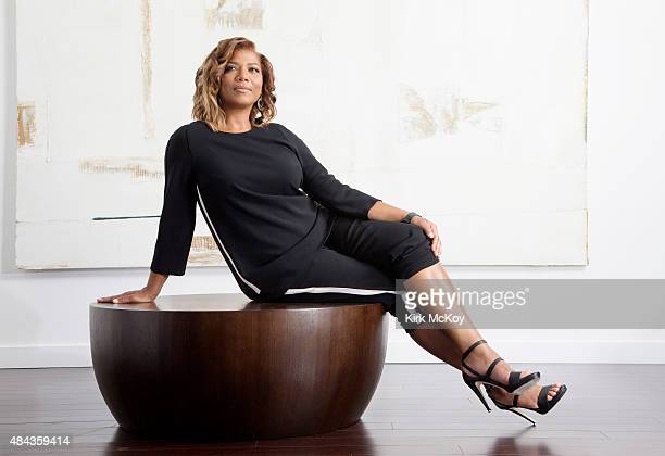 Actress and producer Queen Latifah is photographed for Los Angeles Times on August 4 2015 in Culver City California PUBLISHED IMAGE CREDIT MUST BE...