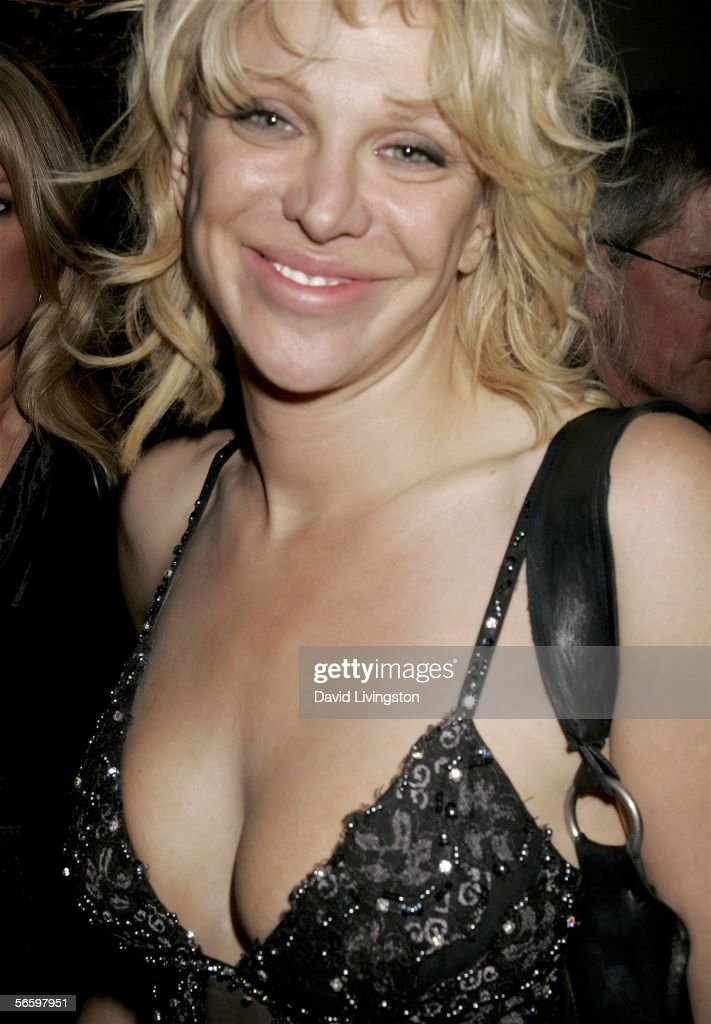Actress and recording artist Courtney Love attends HBO's Annual Pre-Golden Globe Reception at Chateau Marmont on January 14, 2006 in Los Angeles, California.
