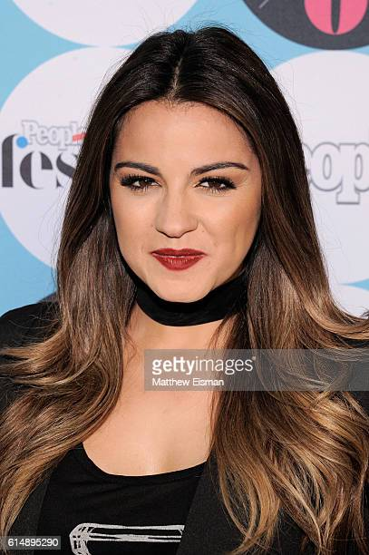 Actress and recording artist Maite Perroni attends the 5th Annual Festival PEOPLE En Espanol Day 1 at the Jacob Javitz Center on October 15 2016 in...