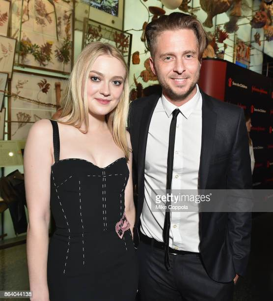 Actress and Save the Children Ambassador Dakota Fanning and Grammywinning Songwriter and Producer Ryan Tedder attend the 5th Annual Save the Children...
