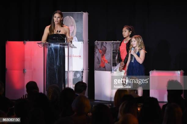 Actress and Save the Children Trustee Jennifer Garner and Save the Children beneficiaries Nicole and Anna Marie speak onstage at the 5th Annual Save...
