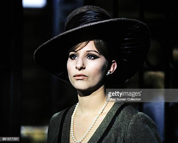 Actress and singer Barbra Streisand as entertainer Fanny Brice in the biopic 'Funny Girl' 1968