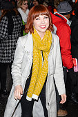 Actress and singer Carly Rae Jepsen enters the 'Good Morning America' taping at the ABC Times Square Studios on March 2 2015 in New York City