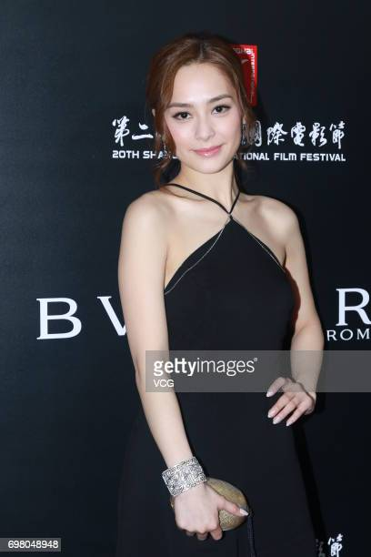 Actress and singer Gillian Chung arrives at the red carpet of the Italian Film Week Opening Cocktail Party during the 20th International Film...