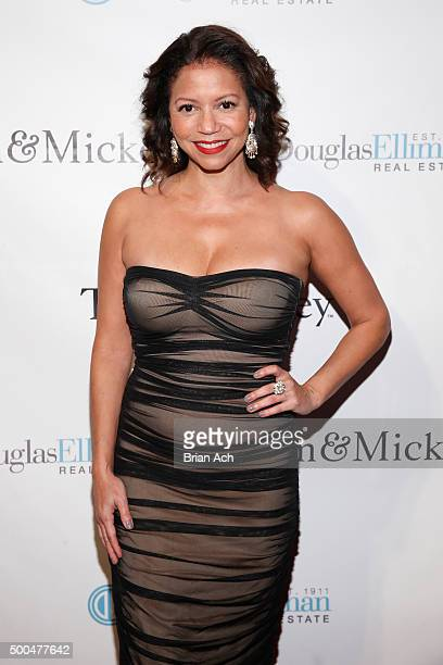 Actress and singer Gloria Reuben attends the Sinatra 100 Holiday Spectacular hosted By Tom Postilio Mickey Conlon at The Edison Ballroom on December...