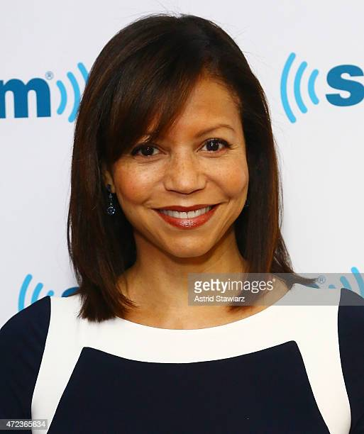 Actress and singer Gloria Reuben visits the SiriusXM Studios on May 6 2015 in New York City