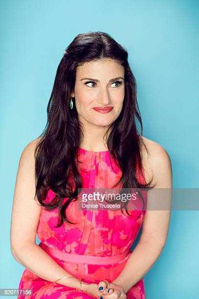 Actress and singer Idina Menzel poses for a portrait at the 2013 D23 Expo on August 6 2013 in Las Vegas Nevada