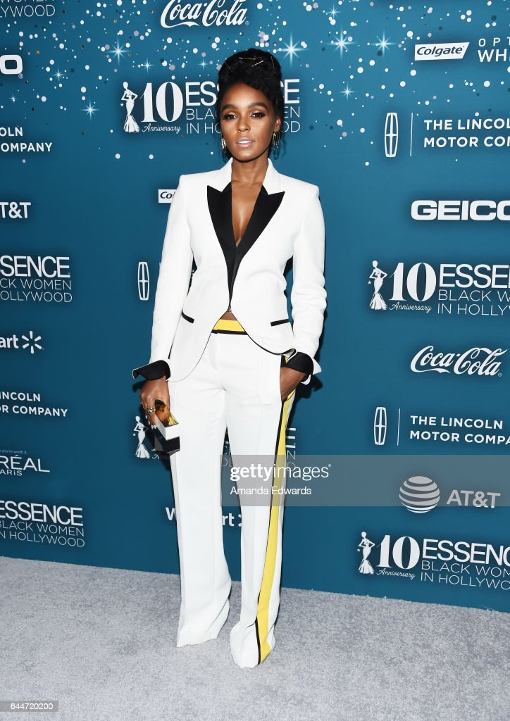 Actress and singer Janelle Monae arrives at the Essence 10th Annual Black Women in Hollywood Awards Gala at the Beverly Wilshire Four Seasons Hotel on February 23, 2017 in Beverly Hills, California.