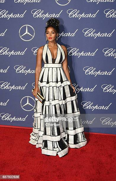 Actress and Singer Janelle Monae attends the 28th Annual Palm Springs International Film Festival Film Awards Gala at Palm Springs Convention Center...