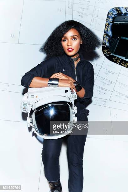Actress and singer Janelle Monae is photographed for Cosmopolitan Magazine on October 27 2016 in Miami Florida