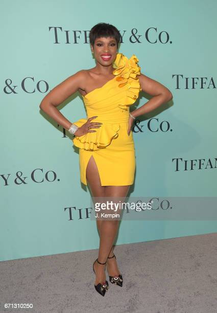 Actress and singer Jennifer Hudson attends the Tiffany Co 2017 Blue Book Collection Gala at St Ann's Warehouse on April 21 2017 in New York City