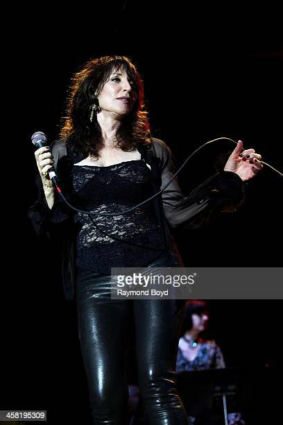 Actress and singer Katey Sagal performs on the Briggs Stratton Big Backyard Stage at the Henry W Maier Festival Park during the HarleyDavidson 110th...