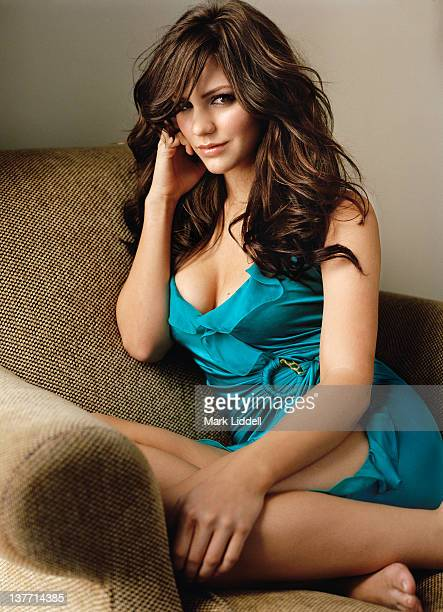 Actress and singer Katharine McPhee is photographed for People Magazine on June 19 2006 in Los Angeles California