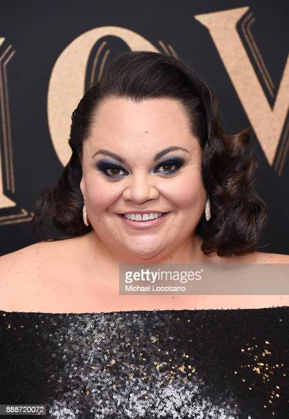 Actress and singer Keala Settle attends the 'The Greatest Showman' World Premiere aboard the Queen Mary 2 at the Brooklyn Cruise Terminal on December...