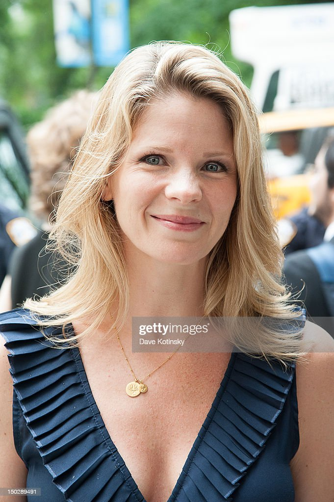 Actress and singer Kelli O'Hara attends the funeral service for Marvin Hamlisch at Temple Emanu-El on August 14, 2012 in New York City. Hamlisch died in Los Angeles on August 6, 2012 at age 68. In his long and distinguished career, the music man received a Pulitzer Prize as well as the Oscar, Tony, Emmy and a GRAMMY.