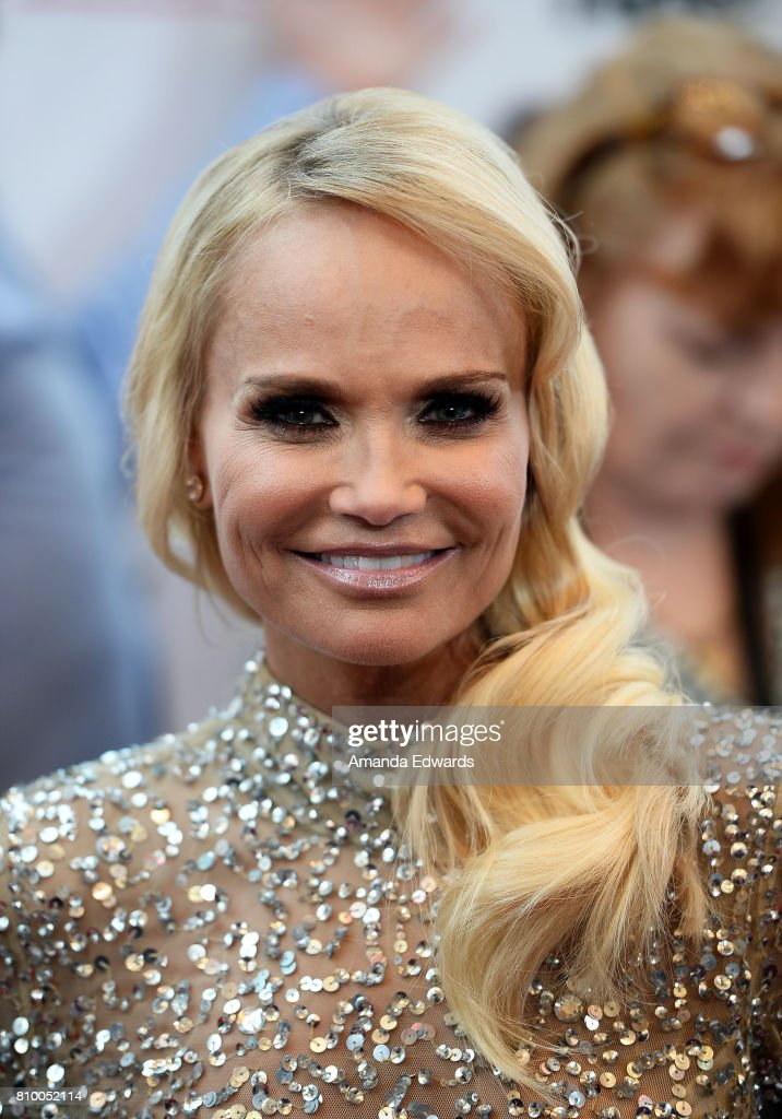 Actress and singer Kristin Chenoweth arrives at the 2017 Outfest Los Angeles LGBT Film Festival Opening Night Gala of 'God's Own Country' at the Orpheum Theatre on July 6, 2017 in Los Angeles, California.