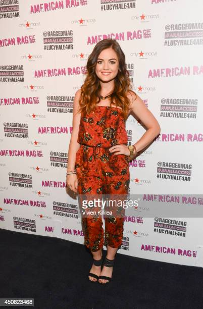 Actress and singer Lucy Hale makes an appearance at Macy's Sherman Oaks For American Rag's 'ALL ACCESS' Campaign at Macy's Sherman Oaks on June 14...