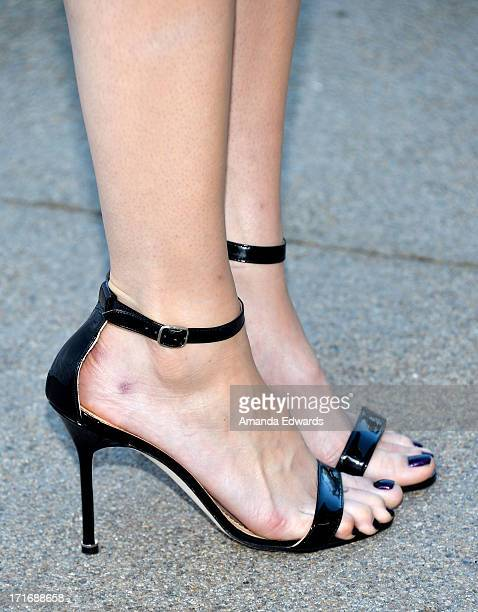 Actress and singer Mandy Moore arrives at The Annenberg Space For Photography exhibit opening for 'Helmut Newton White Women Sleepless Nights Big...