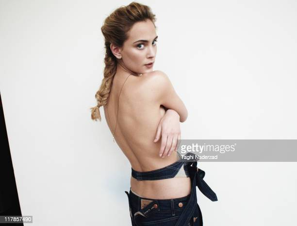 Actress and singer Nora Arnezeder is photographed for Grazia France