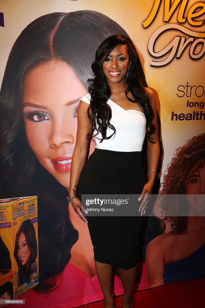 Actress and singer Porsha D. Stewart attends the relaunch of MegaGrowth at 'The Mane Event' at King Plow Arts Center on April 11, 2013, in Atlanta, Georgia.