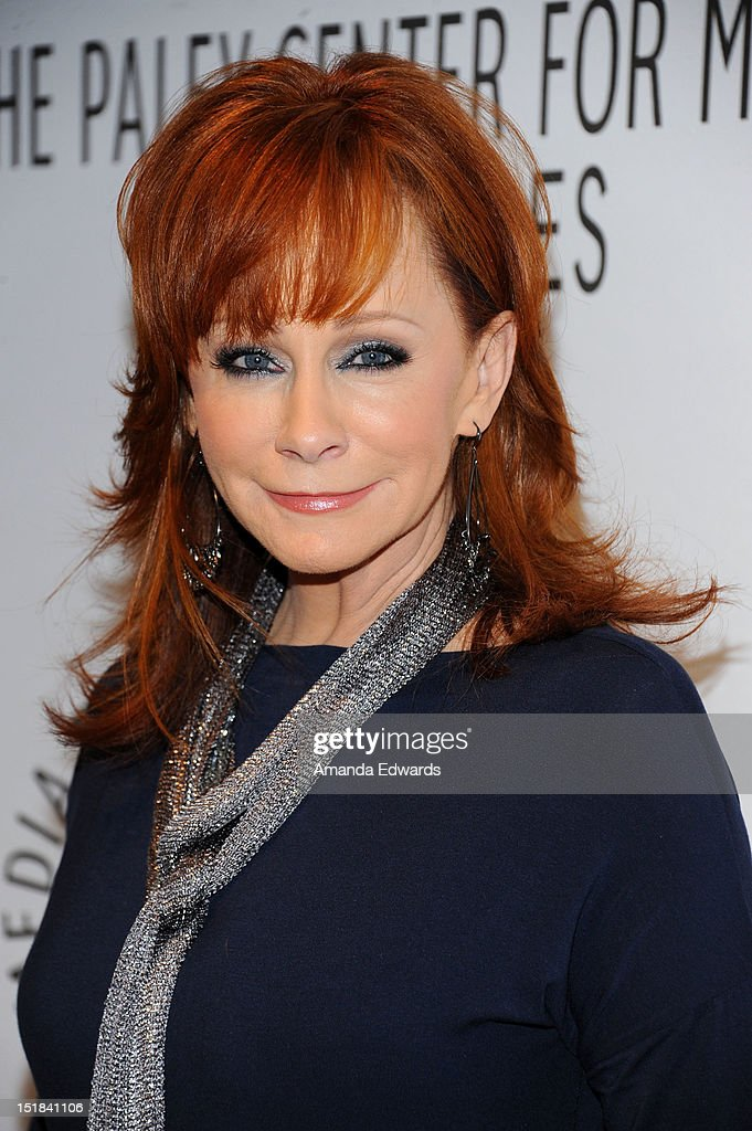 Actress and singer <a gi-track='captionPersonalityLinkClicked' href=/galleries/search?phrase=Reba+McEntire&family=editorial&specificpeople=202959 ng-click='$event.stopPropagation()'>Reba McEntire</a> arrives at the 2012 PayleyFest : Fall TV Preview Party -ABC at The Paley Center for Media on September 11, 2012 in Beverly Hills, California.