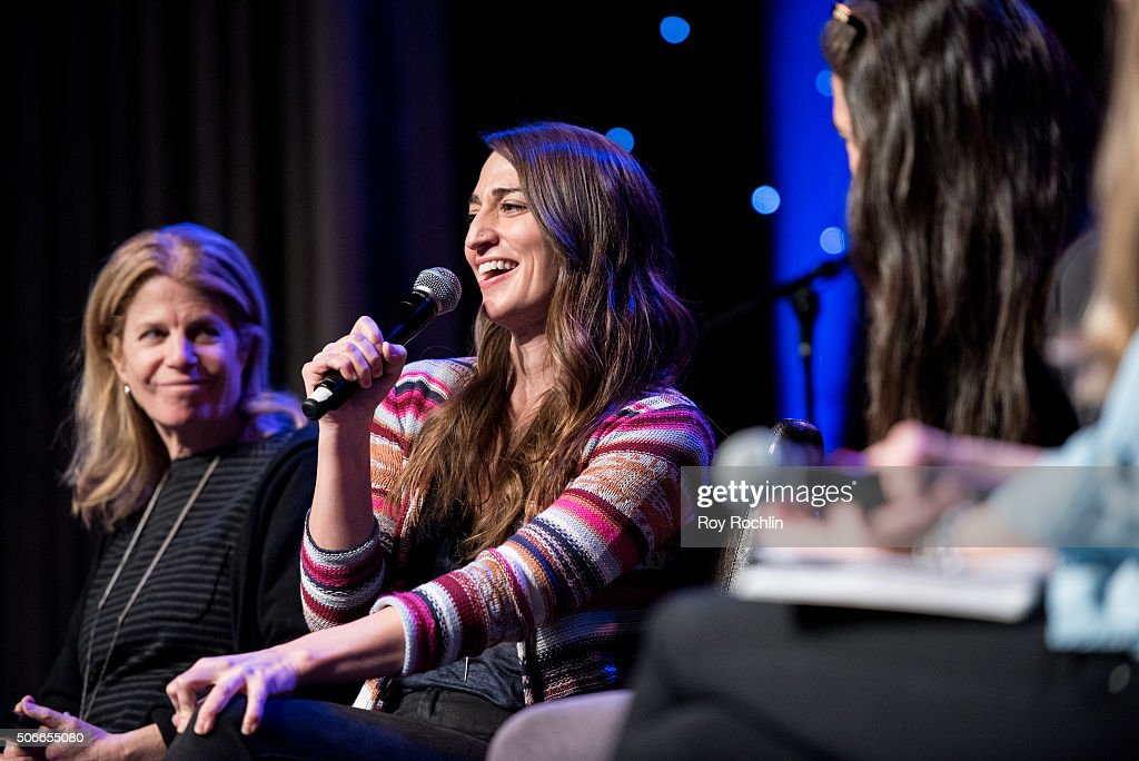 Actress and singer Sara Bareilles attends BroadwayCon 2016 at the New York Hilton Midtown on January 24, 2016 in New York City.