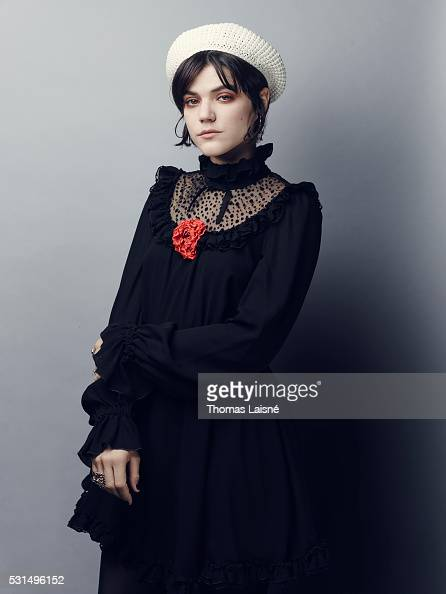 Actress and singer Soko is photographed for Self Assignment on May 14 2016 in Cannes France