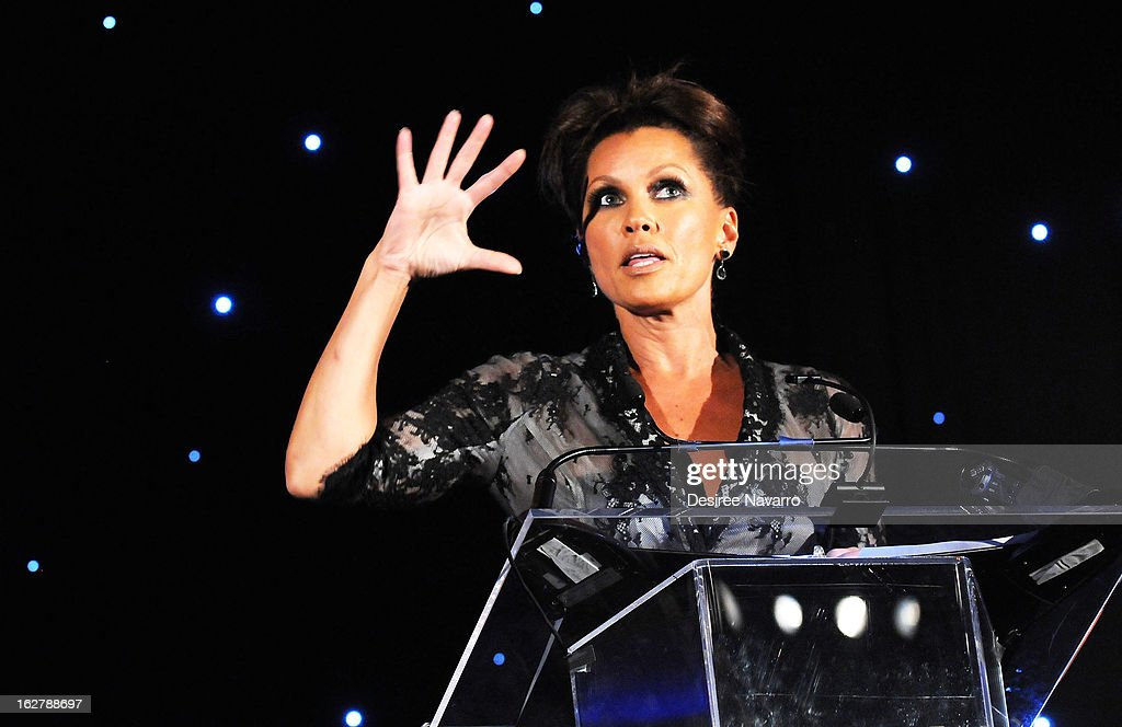 Actress and singer Vanessa Williams accepts the Dance Theatre of Harlem's 2013 Vision Award during the Dance Theatre Of Harlem 44th Anniversary Celebration at Mandarin Oriental Hotel on February 26, 2013 in New York City.