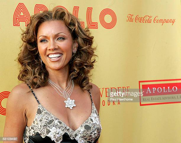 Actress and singer Vanessa Williams attends the Apollo Theater 2005 Spring Benefit 'The Magic Lives On' at the Apollo Theater June 20 2005 in New...
