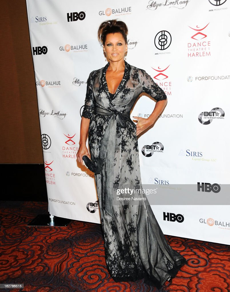 Actress and singer Vanessa Williams attends the Dance Theatre Of Harlem 44th Anniversary Celebration at Mandarin Oriental Hotel on February 26, 2013 in New York City.