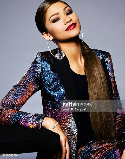 Actress and singer Zendaya is photographed for Just Jared on April 26 2014 in Los Angeles California PUBLISHED ONLINE