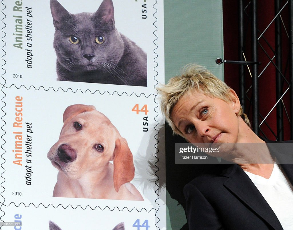 Image result for ellen degeneres stamp