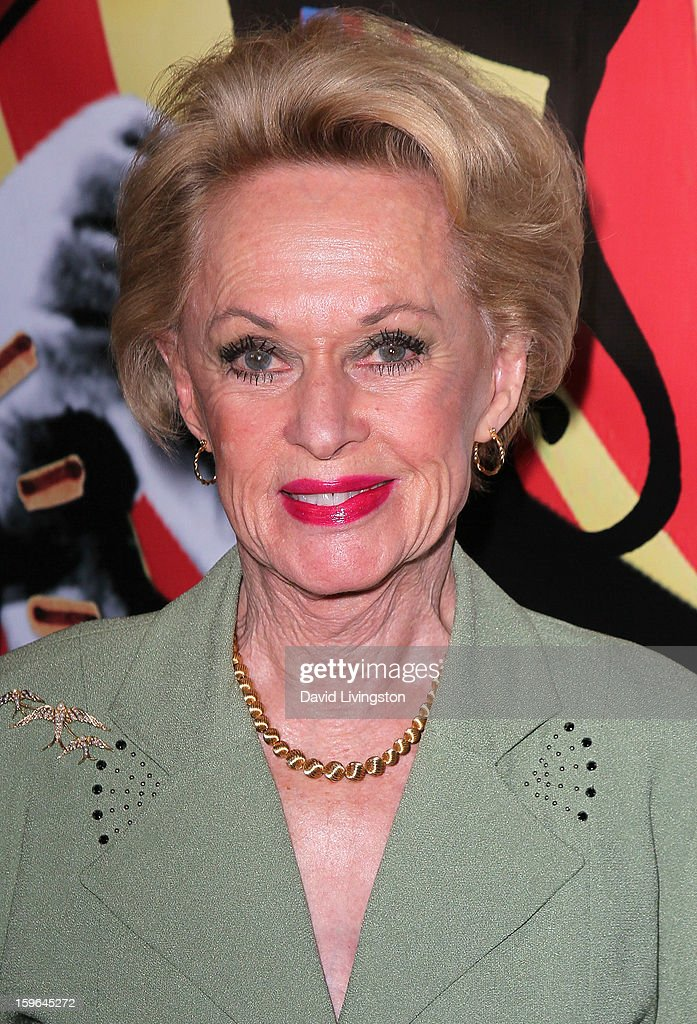 Actress and 'The Birds' cast member Tippi Hedren attends the 'Directors Series' 2nd Annual Commemorative Ticket press event presented by Red Line Tours at the Egyptian Theatre on January 17, 2013 in Hollywood, California.