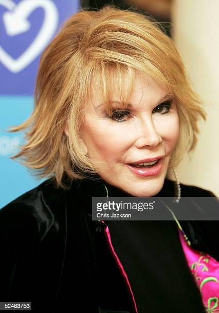 Actress and TV personality Joan Rivers attends the 'Lighthouse Gala Auction' event raising money for HIV and AIDS charity the Terrence Higgins Trust...