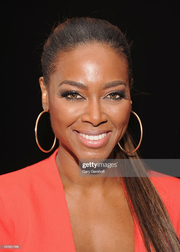 Actress and TV personality Kenya Moore seen at the 'Rust And Bone' Luncheon at Brasserie Ruhlmann on November 27, 2012 in New York City.