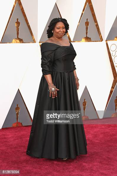 Actress and TV personality Whoopi Goldberg attends the 88th Annual Academy Awards at Hollywood Highland Center on February 28 2016 in Hollywood...
