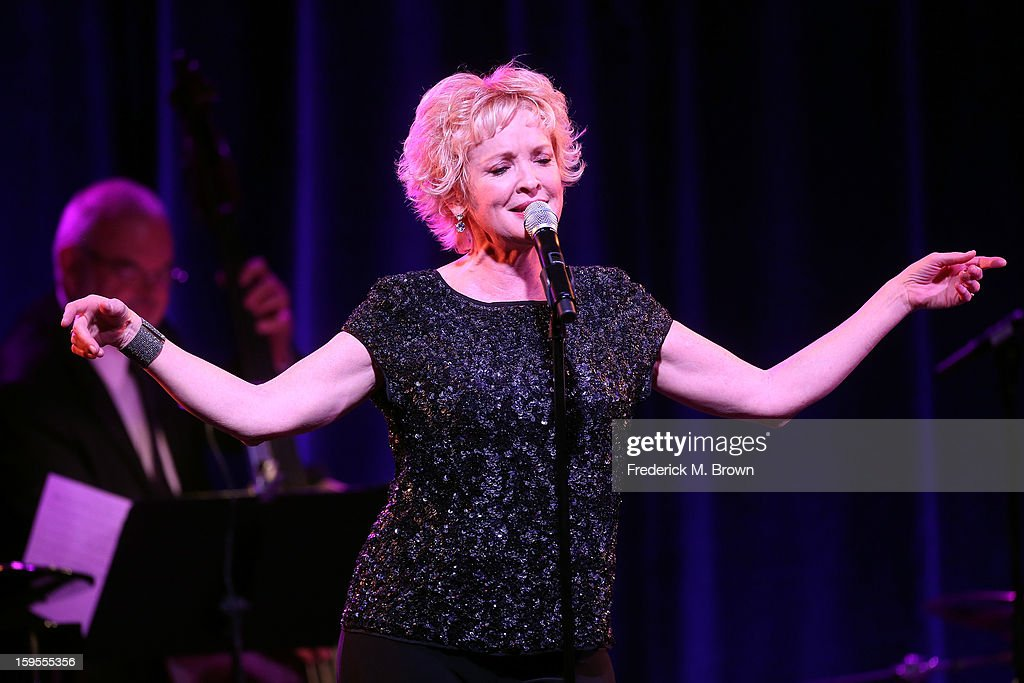 Actress and two-time Tony winner Christine Ebersole performs during the PBS Portion- Day 2 of the 2013 Winter Television Critics Association Press Tour at Langham Hotel on January 15, 2013 in Pasadena, California.
